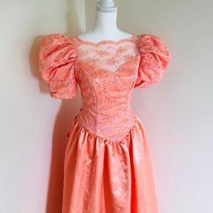 Dresses & Skirts - Vintage 80s Prom Dress